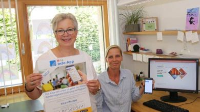 Photo of Gut informiert mit Homepage und App