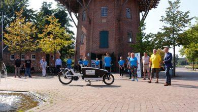 Photo of E-Lastenfahrrad wurde vor Meyers Mühle vorgestellt
